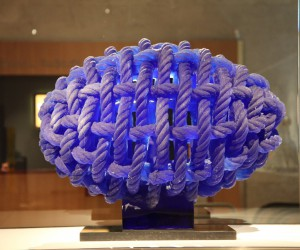Ivan Mares: Rope Egg, 105 x 85 x 75 cm